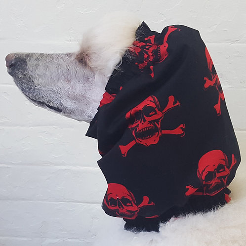 Red Skulls Snood