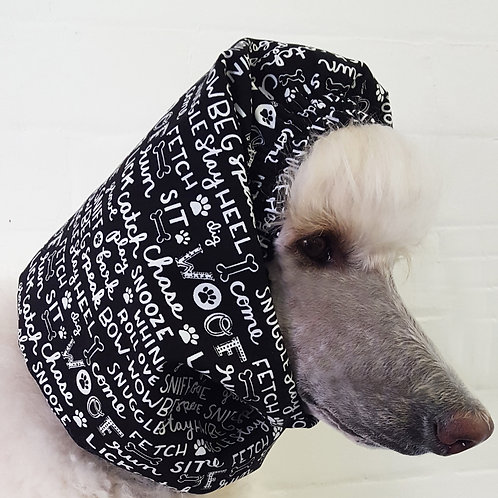 Woof Words Snood