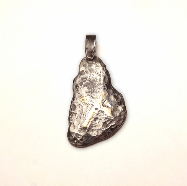 925 Andronicos cross pendant