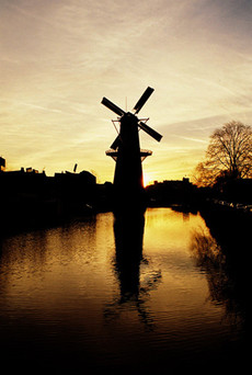 Windmill Holland by andronicos