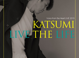 11月9日(土)KATSUMI Live 2019「LIVE THE LIFE」