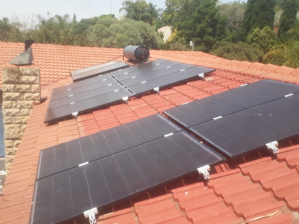 Residential roof-top installation
