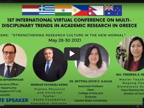 1st International Virtual Conference On Multi-Disciplinary Trends, May 28-30, 2021