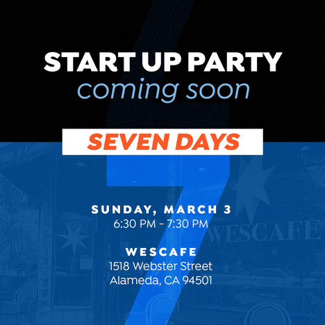 Start Up Party Social