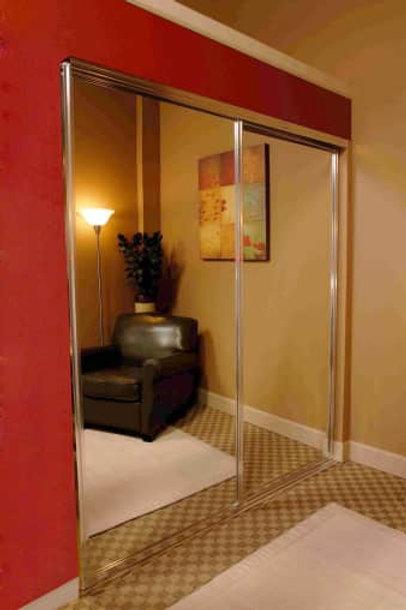 Mirrored Closet Door**