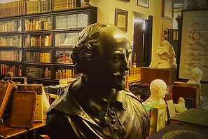 rare books shakespear bust collection