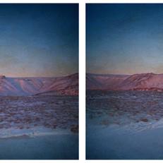 Richter, Esja, Iceland, 2020, je 62x50cm, Chrome Pigment Druck auf Büttenpapier auf Alu-Di