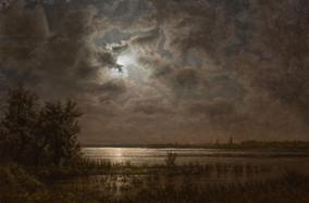 Moonlit Bodden, 2020, 90cm x 60cm, 1800€.jpg