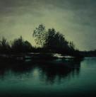 Michael Handt, Silent Lake, 2016, 120cm x 80cm