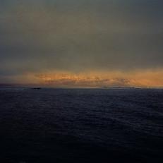 Richter, Vattarnes, Iceland, 2020, 80x65cm, Chrome Pigment Druck auf Büttenpapier auf Alu-