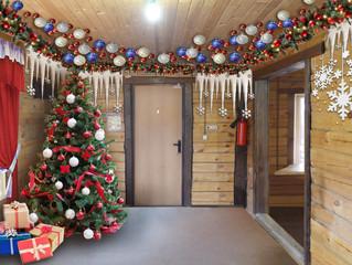 Резиденция Деда Мороза в Минино Resort!