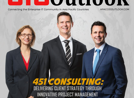 """451 Consulting selected in the """"Top 25 most promising Project Management solution providers&quo"""