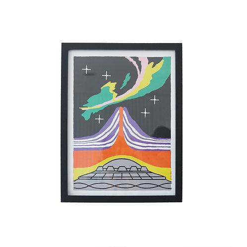 Cuadro Volcán x Diego Cinalli