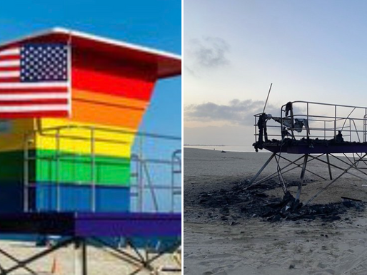 Long Beach to unveil new pride lifeguard tower on Thursday