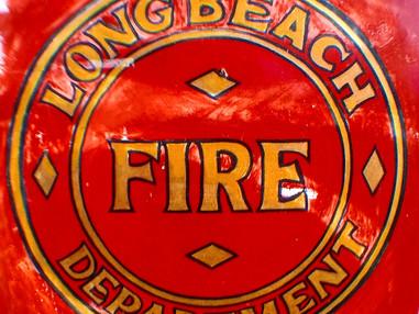 LBFD extingused a boatfire near the Port of Long Beach