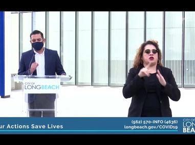 Long Beach Surpasses 20,000 plus Covid-19 Cases, Mayor Introduces Vaccine Plan