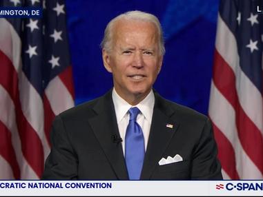 Biden accepts Dem nomination, rips Trump over coronavirus response