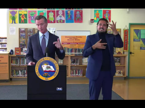 Newsom orders COVID vaccinations for eligible students in K-12 schools when it gets FDA approval