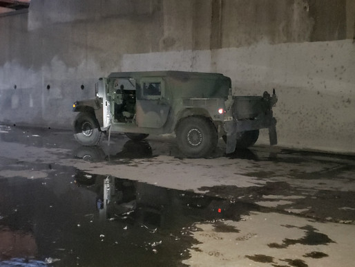 FBI Locates Missing Humvee in LA County