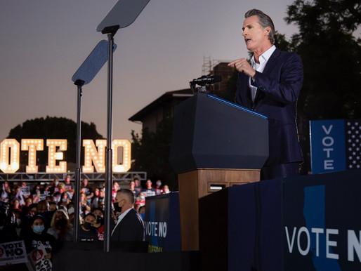 CA Recall Election: CA Gov. Gavin Newsom fends off recall effort, will remain in office