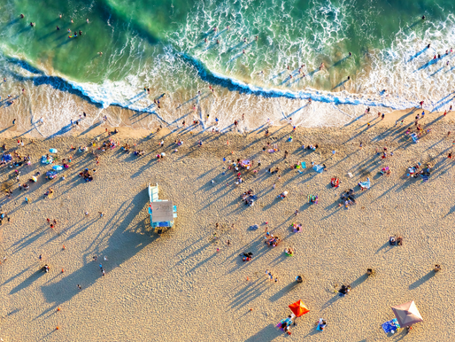 LA County officals say beaches have elevated levels of bacteria