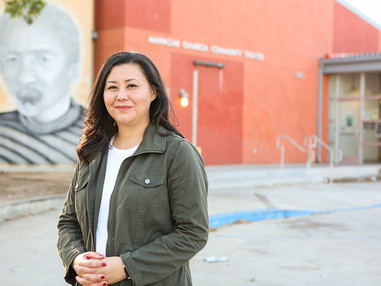 Lena Gonzales Supports Suely Saro For Long Beach 6th District Race