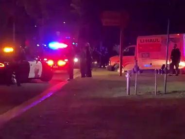 Police chase suspected stolen U-Haul truck ends at Scherer Park in LB, 2 in custody