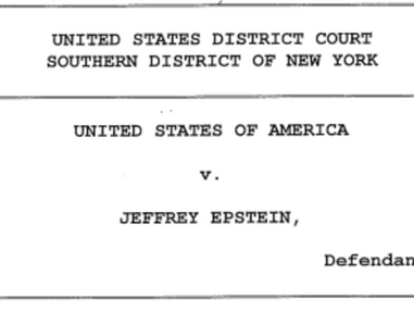 Jerry Epstein, Billionaire with ties to Clinton & Trump, has been charged with Sex Trafficking