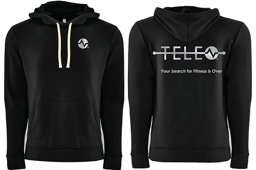 Thick Pullover Hoodie-Black