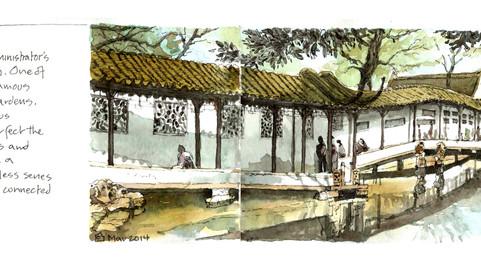 The Humble Administrator's Garden, Suzhou, Jiangsu