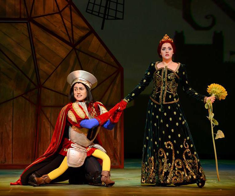 Lord Farquaad e Fiona