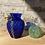 Thumbnail: Beaded Blue Vase