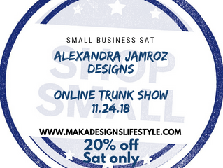 Online Trunk Show 20% off
