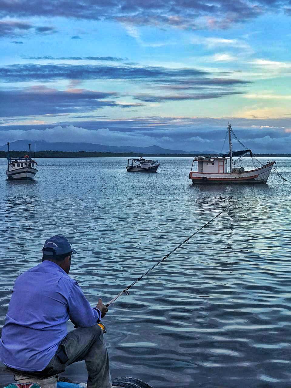 Pesca em Cananéia