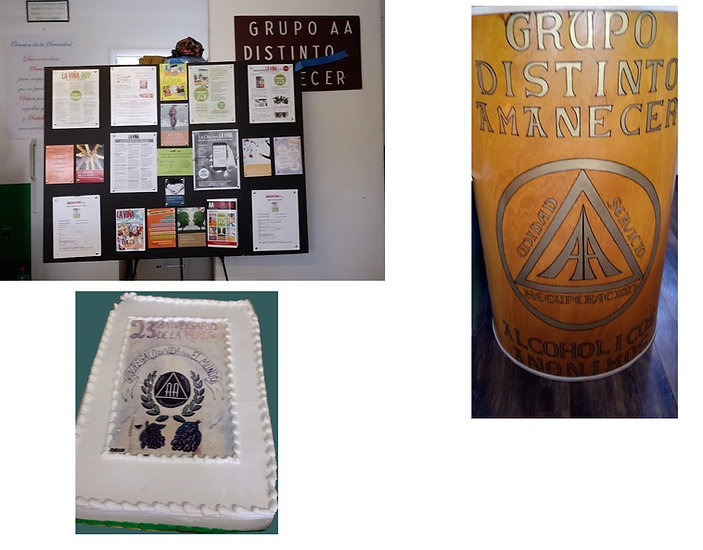Display en el Grupo Distinto Amanecer.jp