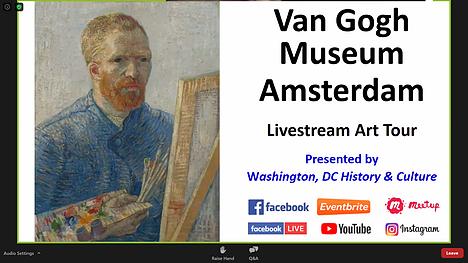 Van Gogh Museum Livestream Art Tour : Review by Hannah