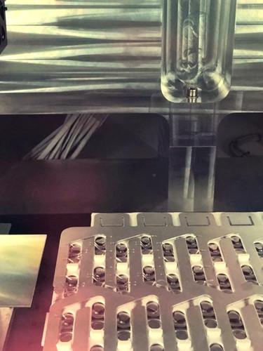 Laserbonding machine interior