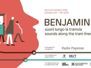 Sul tram arriva Benjamin. Dal 3 al 6 ottobre festival di sound Art in tramvia