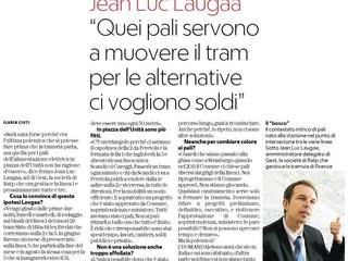 """L'ad della tramvia: """"I pali alla stazione conseguenza del no sul Duomo"""" (la Repubblica"""