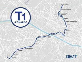 Lunedì 16 luglio apre la nuova T1 Leonardo