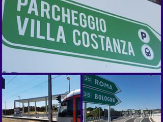 Il nuovo Parcheggio Multimodale di Villa Costanza