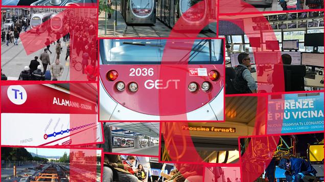 Tramvia, la T1 compie 10 anni: trasportati oltre 142 milioni di passeggeri e fatto 300 volte il giro