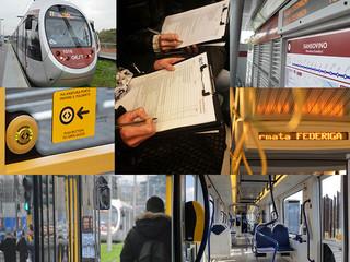 Indagine di gradimento. Dal 31 gennaio al 12 febbraio questionari sul tram