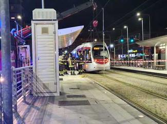 """Pedone investito dal tram alla fermata """"Novoli – Regione Toscana"""""""