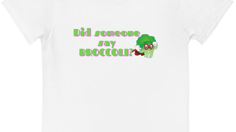 Broccoli Kids crew neck t-shirt