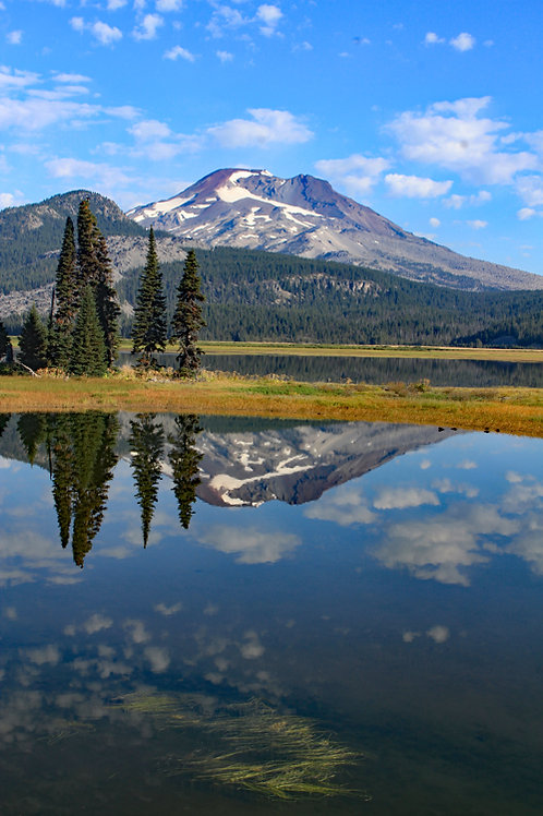 South Sister Reflection by Kenneth E Meyer