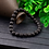 Thumbnail: Haima Lava Hematite Bracelet - Black