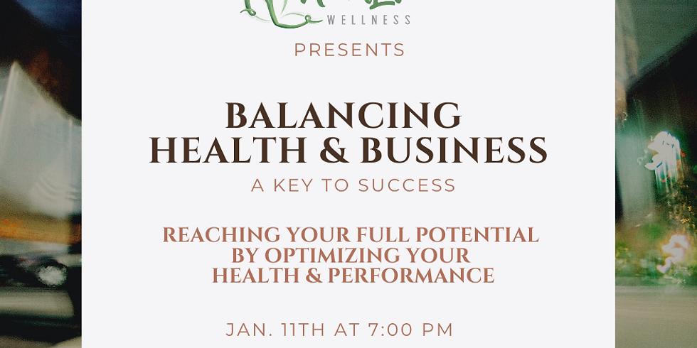 Balancing health & business: A key to success with Nina Lane