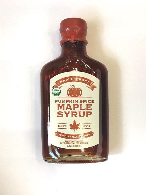 Pumpkin Spice Craft Maple Syrup