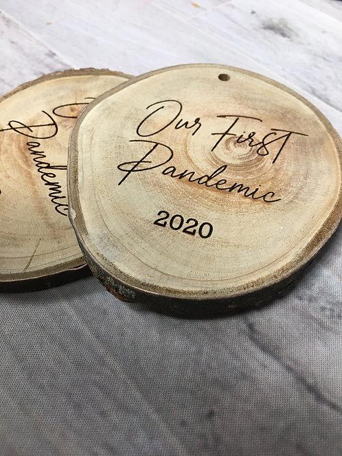 2020 Birch Ornament